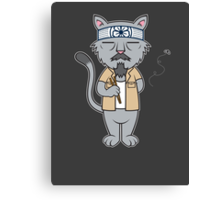 Mr.Meowgi Canvas Print