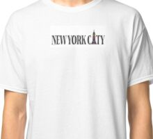 NYC Pride Empire State Rainbow Classic T-Shirt