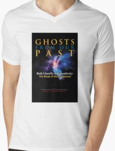 Ghostbusters - Ghosts of Our Past Book Cover Mens V-Neck T-Shirt