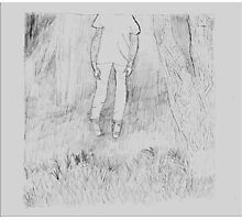 TAA Chasing Ghosts Drawing Photographic Print