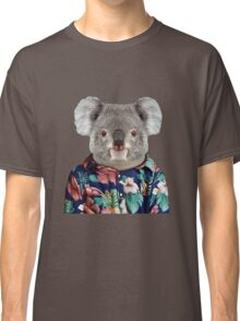 Cute Koala in a Hawaiian Shirt  Classic T-Shirt