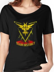 Awesome funny T - shirt design for instinct and more Women's Relaxed Fit T-Shirt