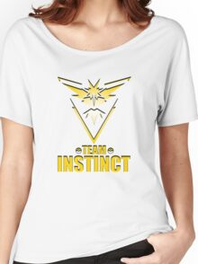 Pokemon Go - Team Instinct Women's Relaxed Fit T-Shirt