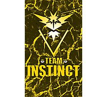 Pokemon Go - Team Instinct Photographic Print