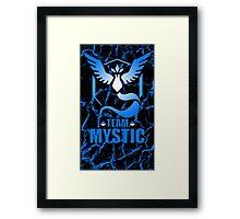 Pokemon Go - Team Mystic Framed Print