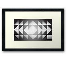 Folding In Framed Print