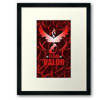 Pokemon Go - Team Valor Framed Print