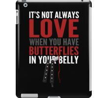 Butterfly In Your Belly iPad Case/Skin
