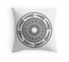 There I Saw a Loon Throw Pillow