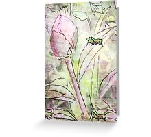 THE PEONY PARTY Greeting Card