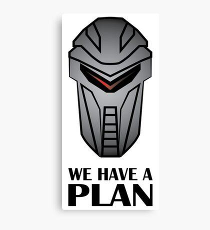 We Have A Plan Cylon BSG Canvas Print