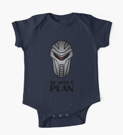 We Have A Plan Cylon BSG One Piece - Short Sleeve