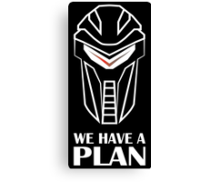 We Have A Plan Cylon BSG Canvas Print