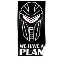 We Have A Plan Cylon BSG Poster