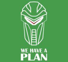 We Have A Plan Cylon BSG Kids Clothes