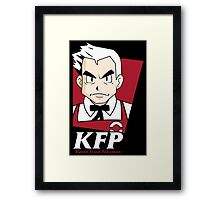 Kanto Fried Pokemon Framed Print