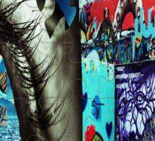 Graffiti Island Sticker
