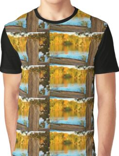 Fall Fence Post Graphic T-Shirt