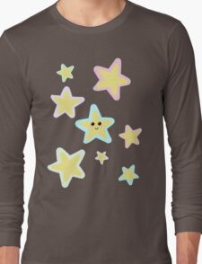Pastel Twinkle Stars Long Sleeve T-Shirt