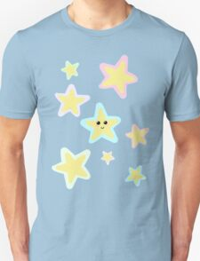 Pastel Twinkle Stars Unisex T-Shirt