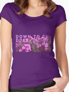 down to cuddle - they made me think of you. Women's Fitted Scoop T-Shirt