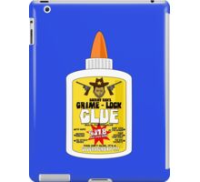 Sheriff Rick's Grime Stick Glue iPad Case/Skin
