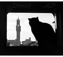 Silhouette, Florence Photographic Print