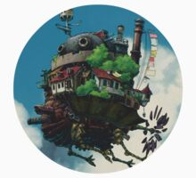 air tank howl moving castle Kids Tee
