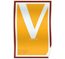 Type Terms - Vertex Poster