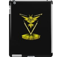 Awesome funny T - shirt design for instinct and more iPad Case/Skin
