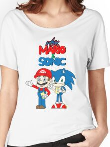 Ask Mario and Sonic Women's Relaxed Fit T-Shirt