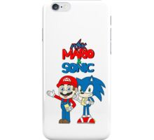 Ask Mario and Sonic iPhone Case/Skin