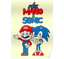 Ask Mario and Sonic Poster