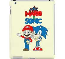 Ask Mario and Sonic iPad Case/Skin