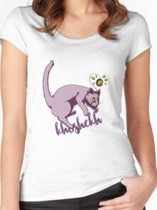 Khoshekh the Flying Cat Welcome To Night Vale Women's Fitted Scoop T-Shirt