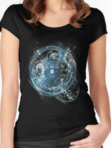 Time and space machine Women's Fitted Scoop T-Shirt