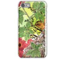 Brown Bird and Bark iPhone Case/Skin