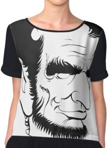 Abraham Lincoln US President Abe Lincoln Chiffon Top
