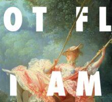 I AM NOT FLY, I AM LEVITATION Sticker