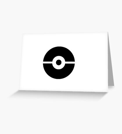 Pokemon Sticker Greeting Card
