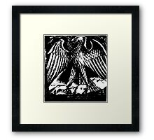 Gothic Eagle  Framed Print
