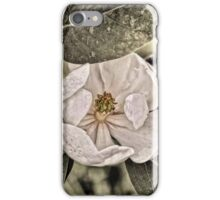 White Magnolia iPhone Case/Skin