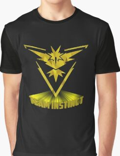 Awesome funny T - shirt design for instinct and more Graphic T-Shirt
