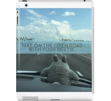 On the Open Road with your Bestie iPad Case/Skin