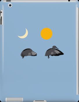 Nighttime Daytime Bird by jezkemp