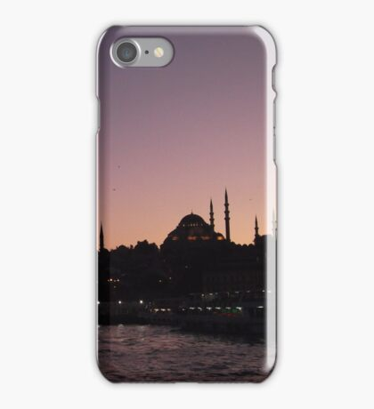 Minarets and Sunsets iPhone Case/Skin