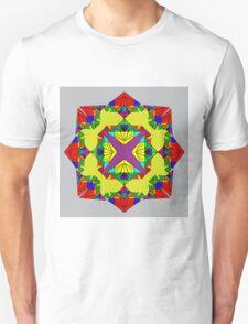 Psychedelic Red Mandela T-Shirt