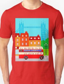 Double Decker Unisex T-Shirt
