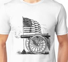 Cannon Flag Unisex T-Shirt