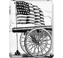 Cannon Flag iPad Case/Skin